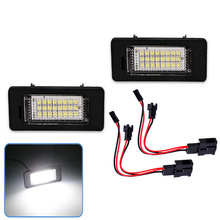 Special for automobile License plate lamp for Audi Q5 A4 TT TTS TTRS A5 A6 LED License plate lamp цена