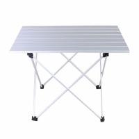 Portable Camping Table Outdoor Aluminium Alloy Foldable Folding Picnic Table Ultralight Mesa Plegable For Hiking Picnic