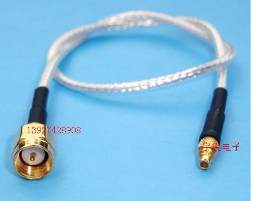 Revolution MMCX SMA male RF line of high frequency SMA-J / MMCX-J cable signal line communications equipment