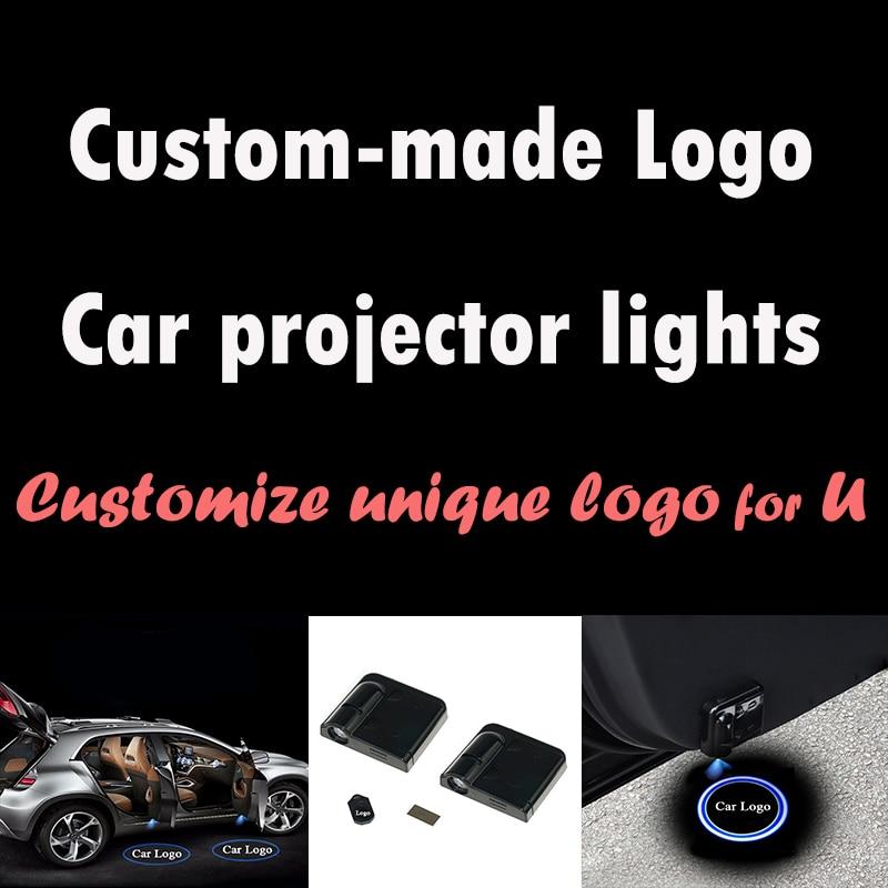 Rylybons Custom Made Wireless Car Logo Projector Light