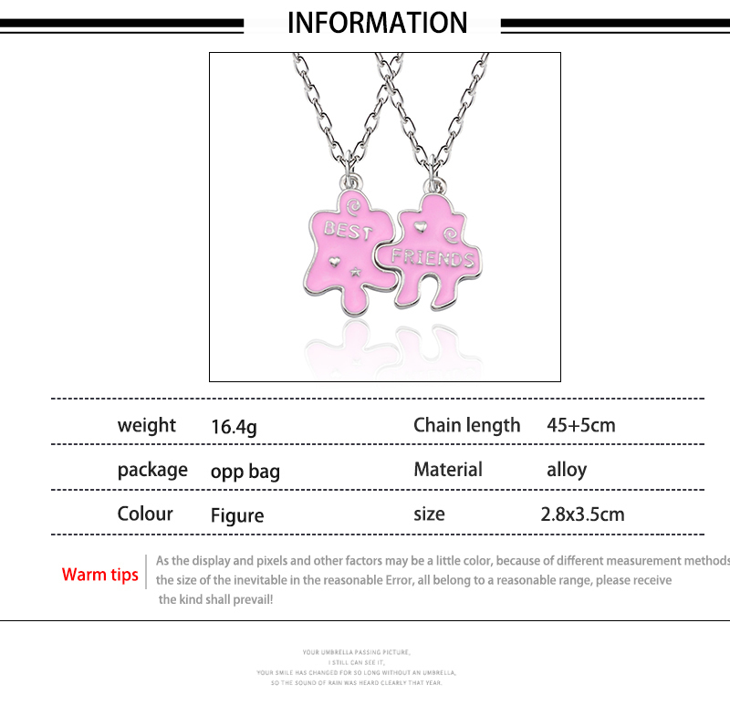 HTB1GVT0Xj14K1Rjt ioq6AkyXXaa - Best Friend Necklace Women Crystal Heart Tai Chi Crown Best Friends Forever Necklaces Pendants Friendship BFF Jewelry Collier