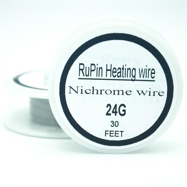 RuPin Heizung Wrie nichromdraht 24 Gauge 30FT 0,5mm Widerstand ...