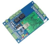 L02 inteligente-roupa de duas portas TCP two-way painel de controle de acesso rfid com weigand entrada software livre 2 Portas Sistema de Controle de acesso