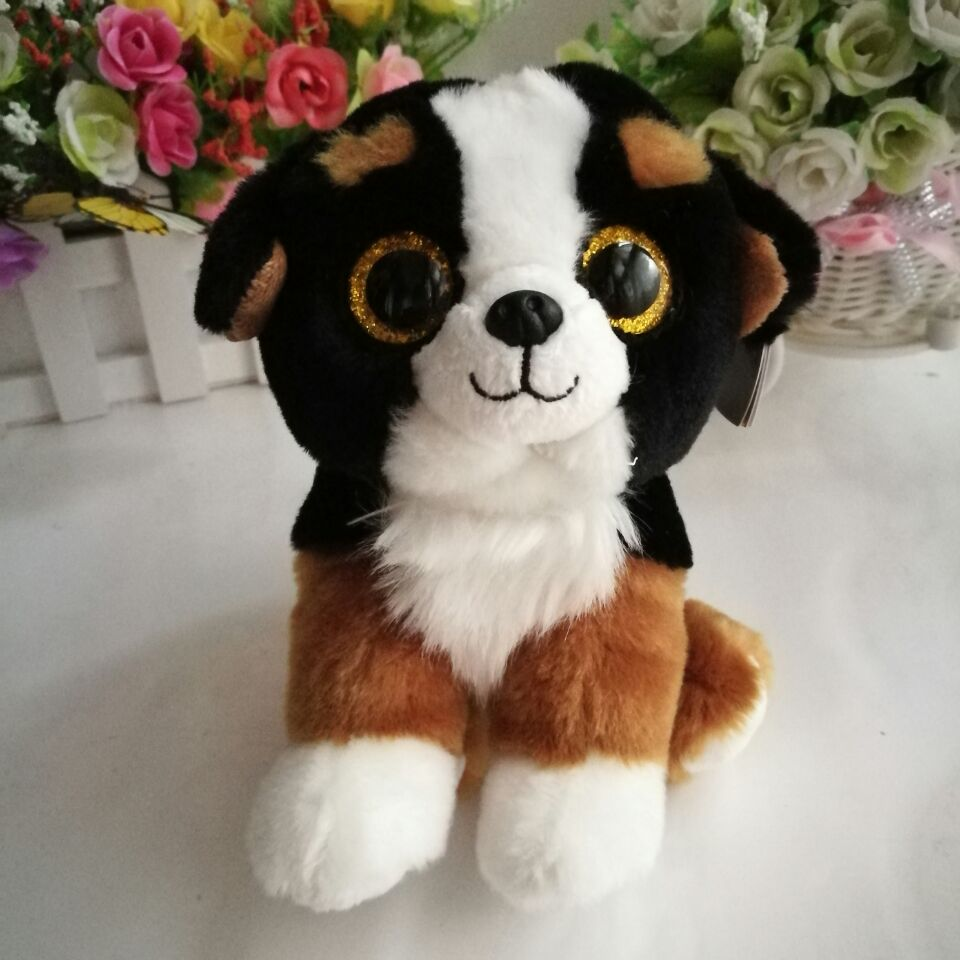 1PC 15CM Roscoe dog 2016 Ty beanie babies Plush Toy Stuffed Animal Nano  dolls children toy soft plush toy christmas gift-in Stuffed   Plush Animals  from ... dc090fa4b75