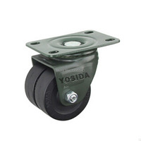 New 2 5 Swivel Wheel Caster Heavy Castors Furniture Castor Silence Universal Wheel Industrial Wheel Double