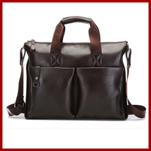 New 2015 fashion polo men bags,men's genuine leather messenger bag,Solid Casual polo bag,man brand Business shoulder bag