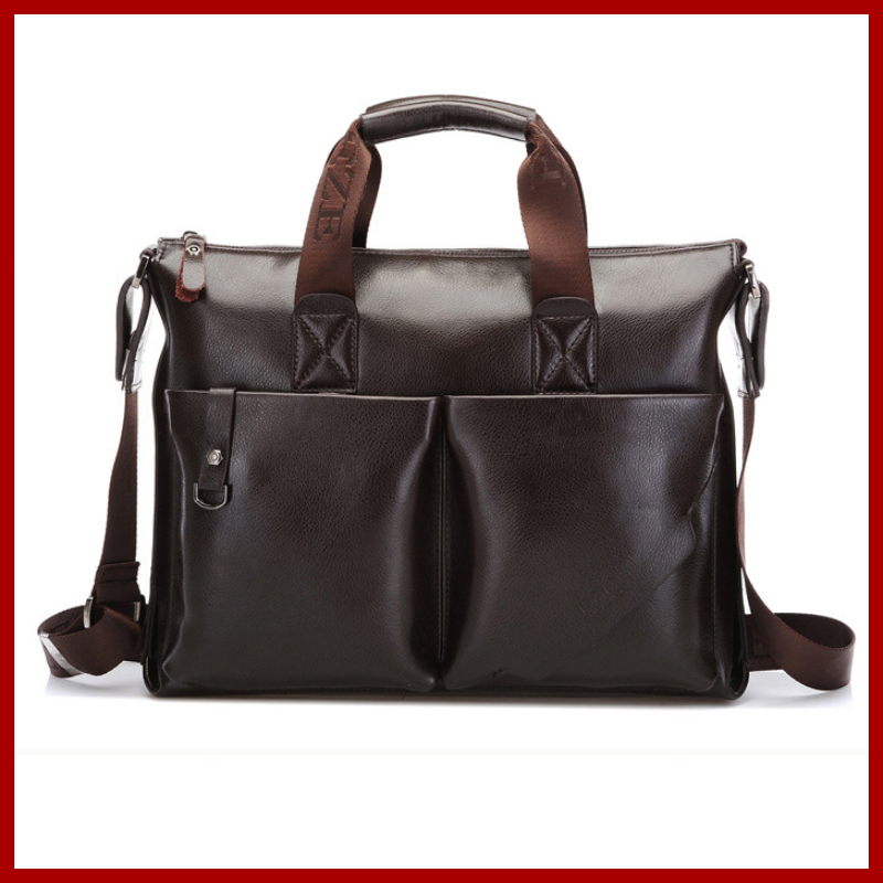 New 2018 fashion polo men bags,men's genuine leather messenger bag,Solid Casual polo bag,man brand Business shoulder bag