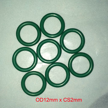 OD12mm*CS2mm viton rubber o ring gasket seal free freight