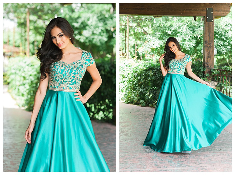 Turquoise And Gold Prom Dresses