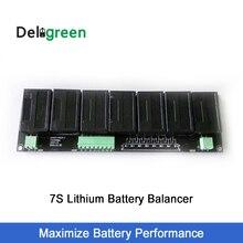 QNBBM 7 s 15 В 24 В Батарея Active балансировки BMS для LIFEPO4, LTO, полимер, ЖИО, LI NCM литий-ионный Батарея 18650 DIY пакет