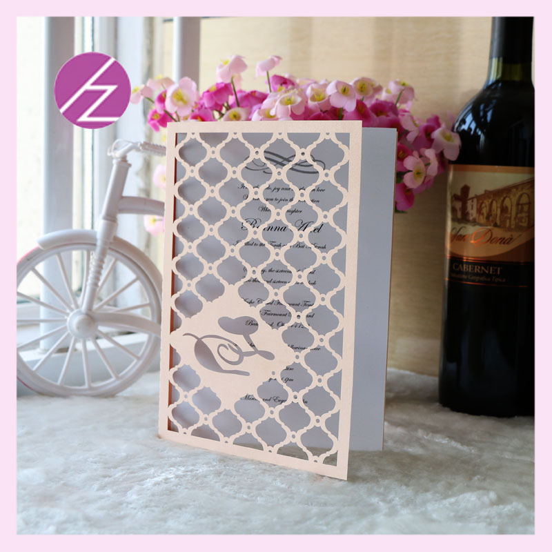 12psc/lot free shipping Wedding Party business Invitation cover ...