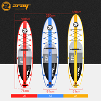 Hot sale DWF Zray A1 A2 A4 inflatable sup stand up paddle board surfing board
