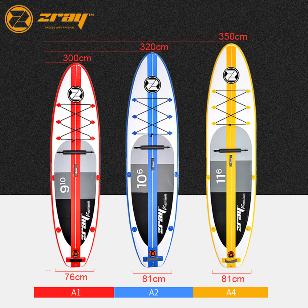 Hot sale DWF Zray A1 A2 A4 inflatable sup stand up paddle board surfing board vocabulario elemental a1 a2 2cd
