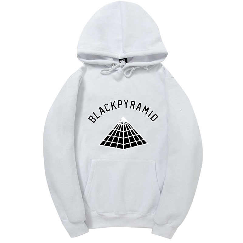 4AM Brand Chris Brown BLACK PYRAMID Hip Hop Hoodie Men And Women Sweatshirts Skateboard Street Style Cotton Tracksuit Hoodies