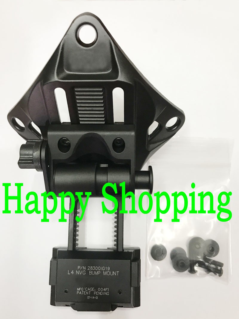 L4G19 NVG Mount CNC Aluminum Frame for Carrying Night Vision Equipment L4 G19 helmet Mount