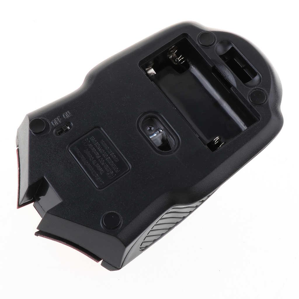 2,4 ГГц Беспроводная usb-мышь для ноутбука компьютер оптическая мышь прокрутка колесо мини несколько операционной системы Регулируемый