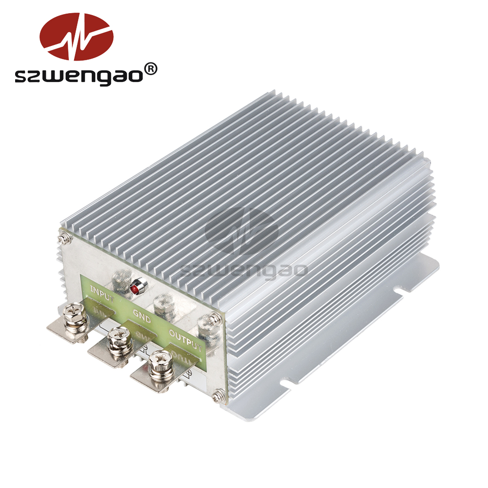 Waterproof Step Down DC to DC Voltage Regulator 24V to 13 8V 50A DC DC Converter