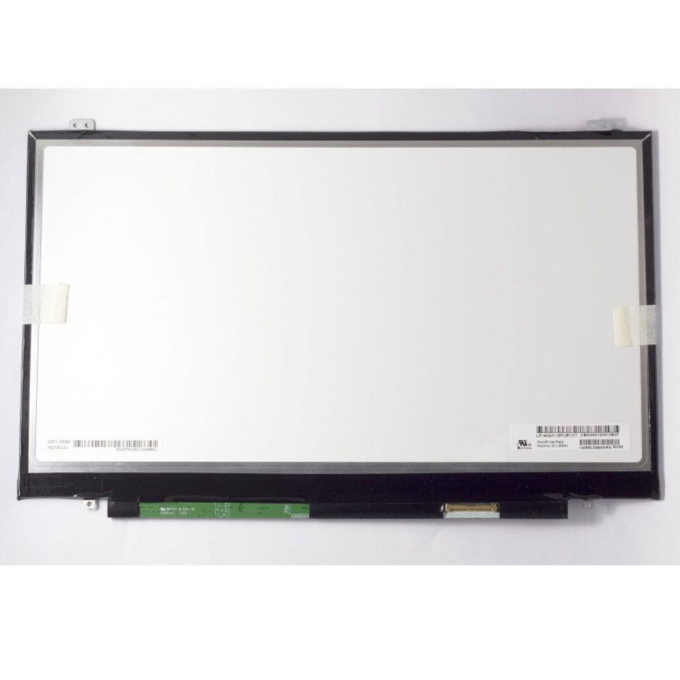 Tested Grade A LP140QH1 SPB1 LP140QH1 SP B1 14 Laptop LCD LED Screen For Lenovo X1
