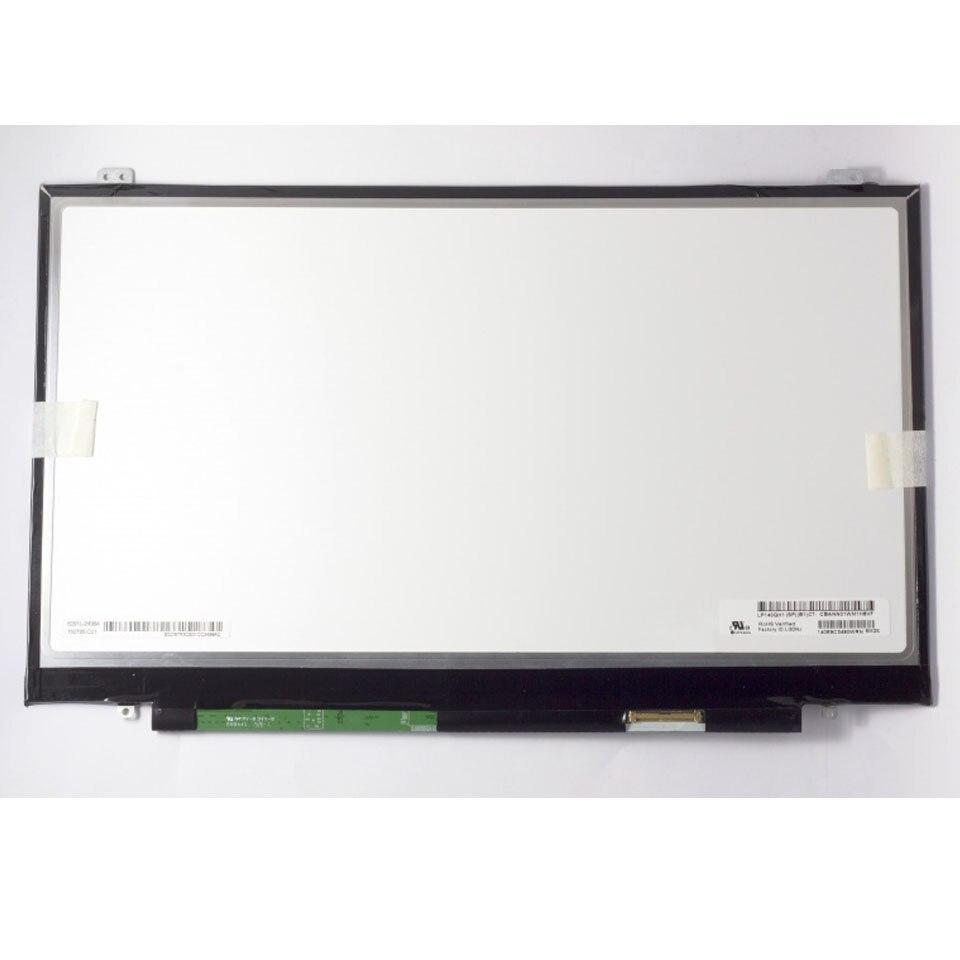 テストグレード A + + + LP140QH1 SPB1 LP140QH1 (SP) (B1) ''Laptop Lcd Led スクリーンレノボ X1 カーボン 2560*1440 非タッチマトリックス 1080P  グループ上の パソコン & オフィス からの ノートパソコンの液晶画面 の中 1