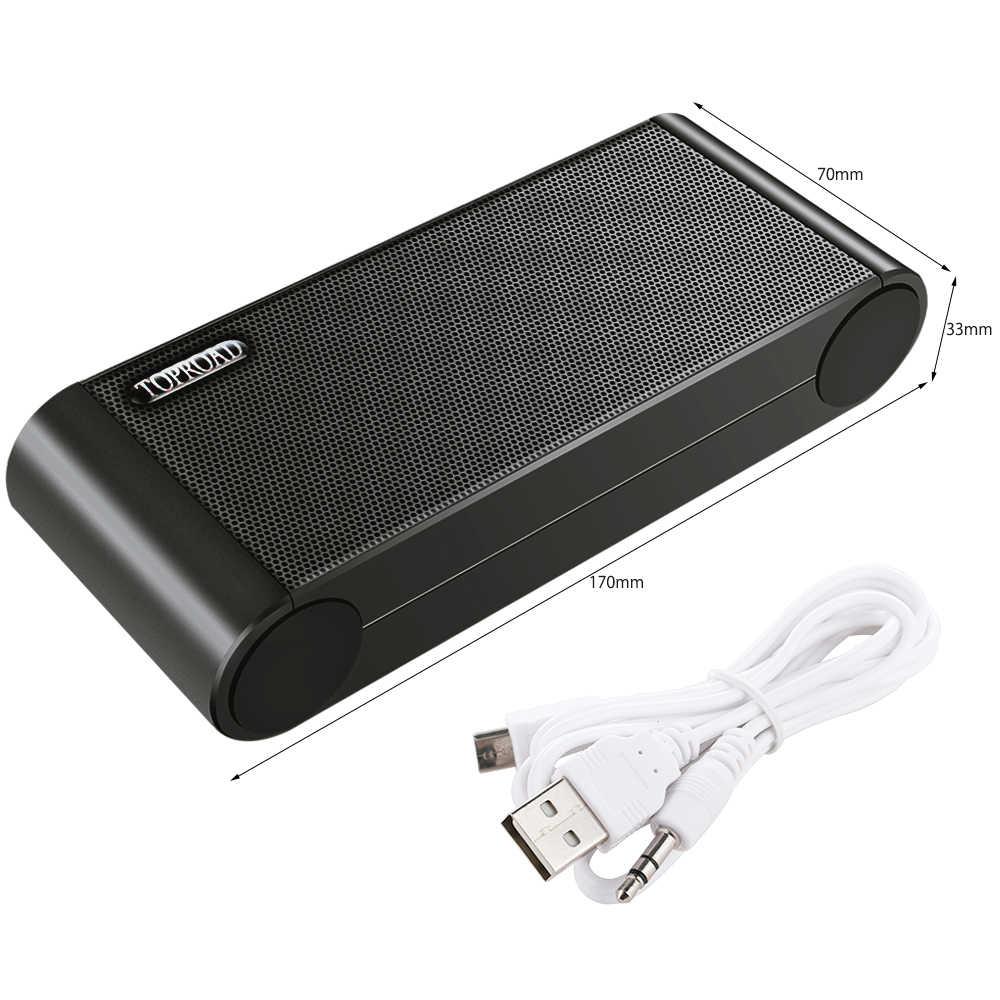 TOPROAD Беспроводной Bluetooth Динамик s Портативный Enceinte Динамик громкой связи Bluetooth гарнитура для MP3 с микрофоном Hands Free TF FM HIFI сабвуфер глубокий низкочастотные динамики