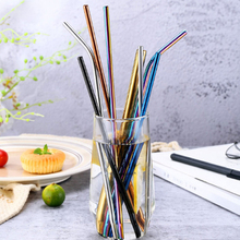 2 Pieces Eco-Friendly Reusable Straw High Quality 304 Stainless Steel Metal for 30 Oz Mugs Wholesale