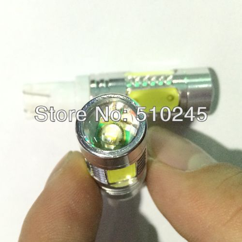 50X Car Auto LED T10 194 W5W 5 led smd 11w high power Wedge Light Bulb Lamp free shipping