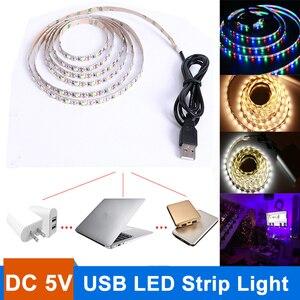 5V USB Power LED Strip light T