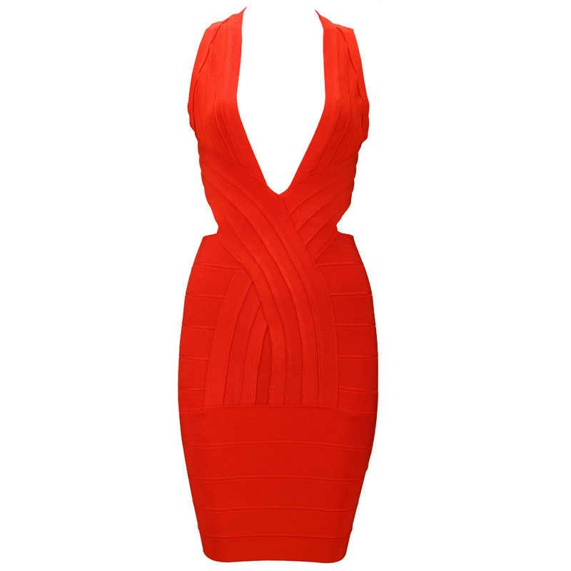 2019 Leger детка Jessica Jane; красный цвет; сезон лето; верх: v-образный вырез Бандажное платье с лямкой на шее в стиле крест-накрест знаменитости вдохновил Бандажное платье, мини-платье