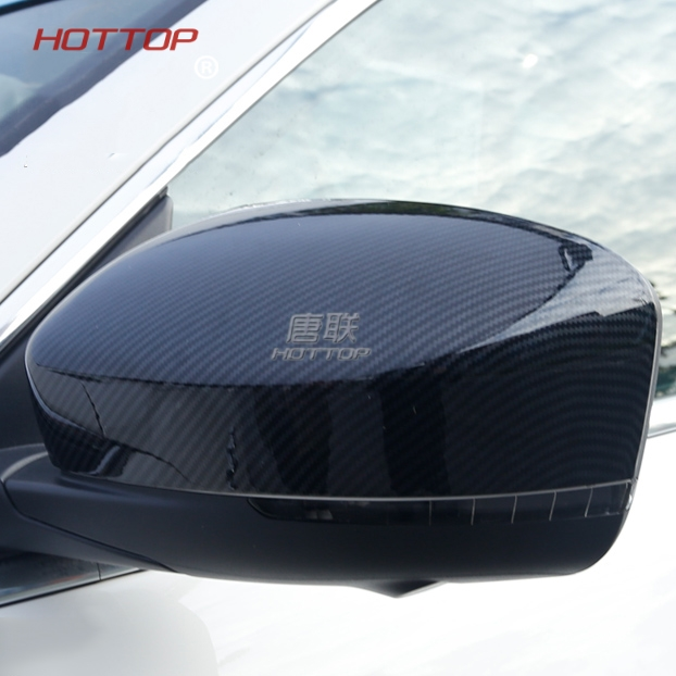 Carbon Fiber Add On Style Side Door Rearview Mirror Covers Fit for Maserati Levante Ghibli 2017 2018