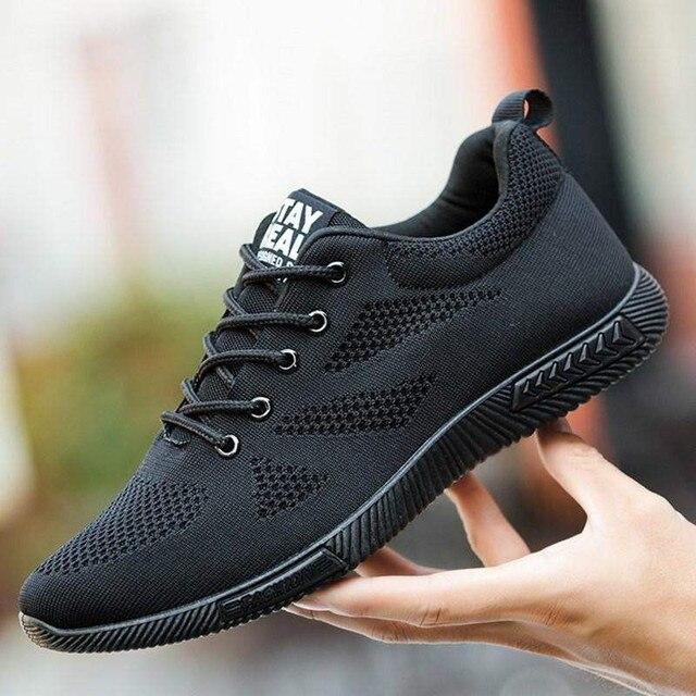 2019 г. новые летние мужские носки кроссовки Beathable сетка МУЖСКАЯ ТЕННИСНАЯ повседневная обувь на шнуровке Лоферы для мальчиков супер легкие кроссовки 39-45