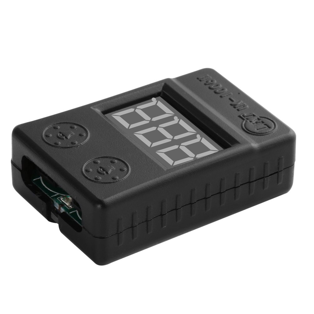 10pcs Mini Portable BX100 1-8S Lipo Battery Low Voltage Power Display Tester Buzzer Alarm Checker with Dual Speakers in stock10pcs Mini Portable BX100 1-8S Lipo Battery Low Voltage Power Display Tester Buzzer Alarm Checker with Dual Speakers in stock