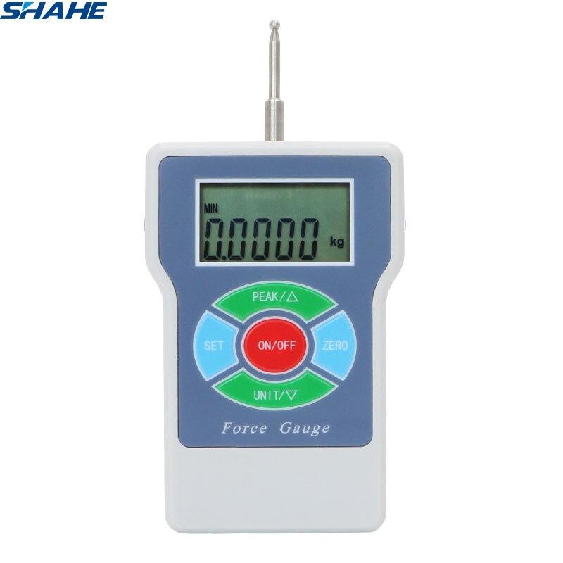 Shahe 10n Digital Tension Meter Push Pull Kraft Messgeräte Spannung Meter Gauge Mild And Mellow