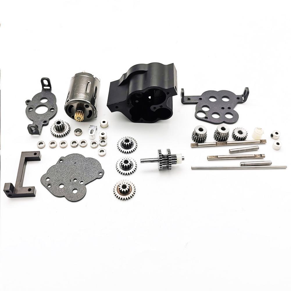 Boîte de vitesses en métal Super-alimenté pour WPL JJRC MN 4WD 6WD RC voiture rénovation mise à niveau modèle accessoires bricolage mise à niveau modèle modifié jouets - 2