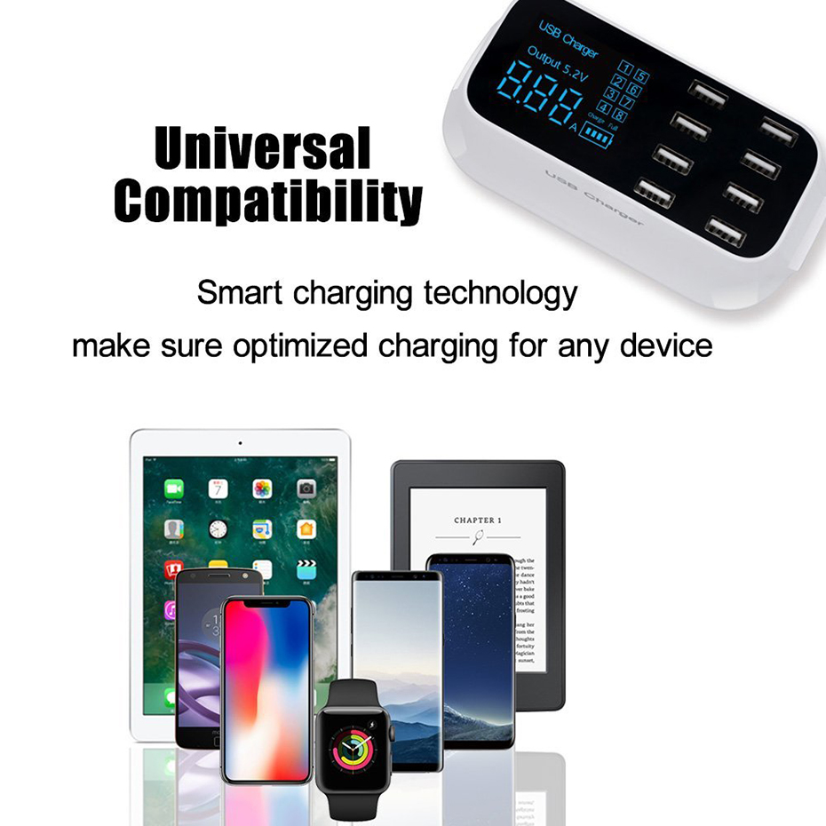 Excellent USB Charger Station for load several devices (7)