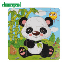 High Quality Wooden Panda Jigsaw Toys For Kids Education And Learning Puzzles Toys Levert Dropship Aug11