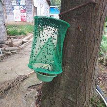 Новая горячая, многоразовые Висячие мухи-ловушки, мухи-ловушки, Zapper, сетчатое ограждение, ловушка для сада, дома, двора
