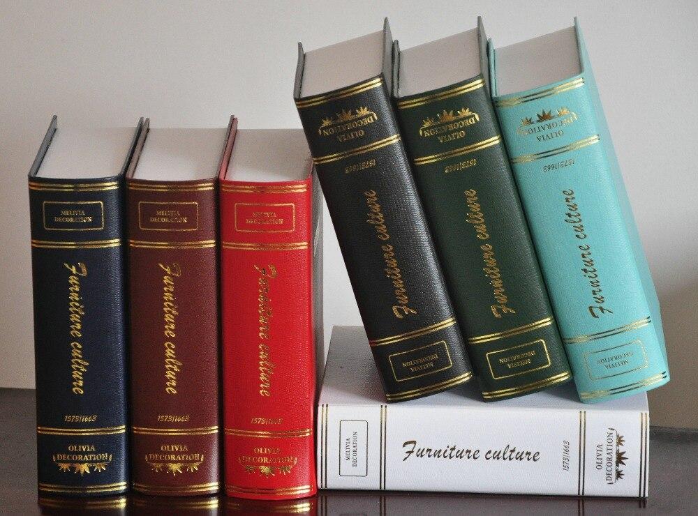 Diy Home Decor Antique Fake Book Shoot Props Simulation Books For Rhaliexpress: Home Decor Fake Books At Home Improvement Advice