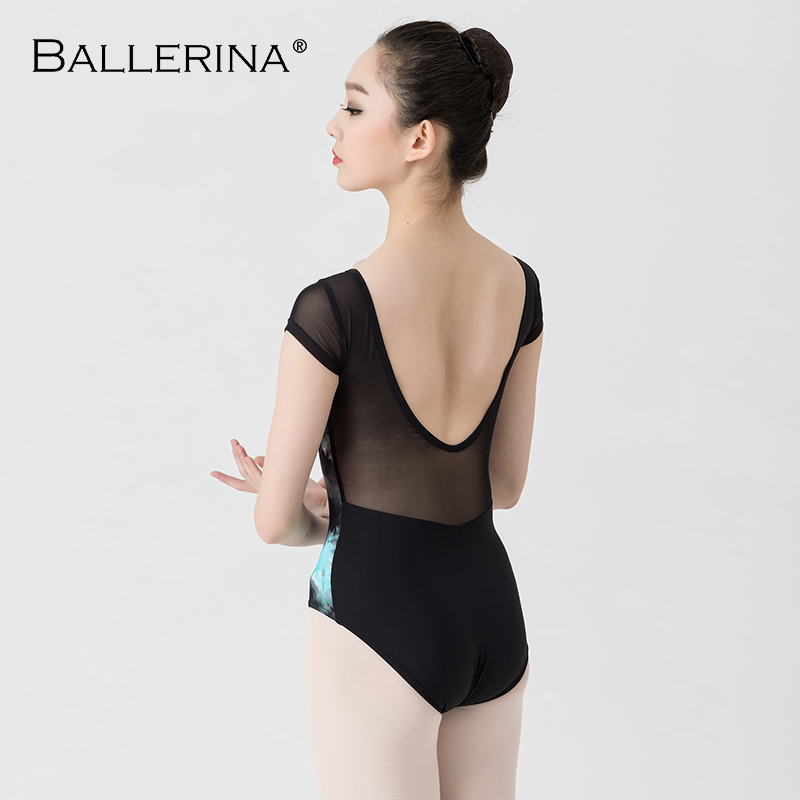 Image 2 - Ballet Leotards For Women Yoga Sexy Dance Professional training gymnastics Digital printing Leotards Ballerina 3570-in Ballet from Novelty & Special Use