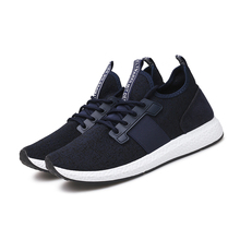 New 2019 Trend Breathable Sneakers Men Running Shoes Man Comfortable Sports Shoe baskets home Jogging