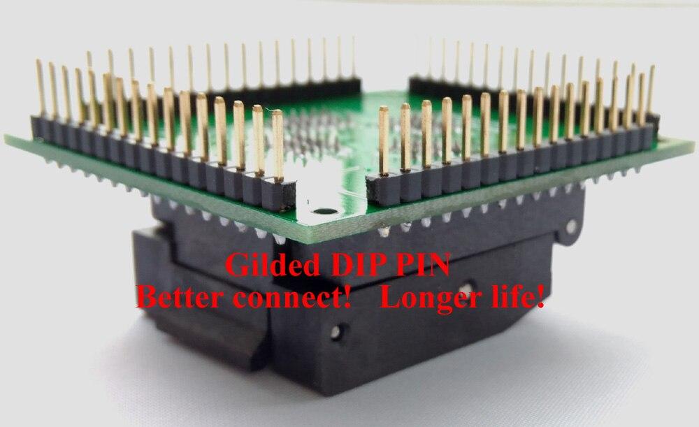 Tqfp64 lqfp64 qfp64 adaptador de soquete ic