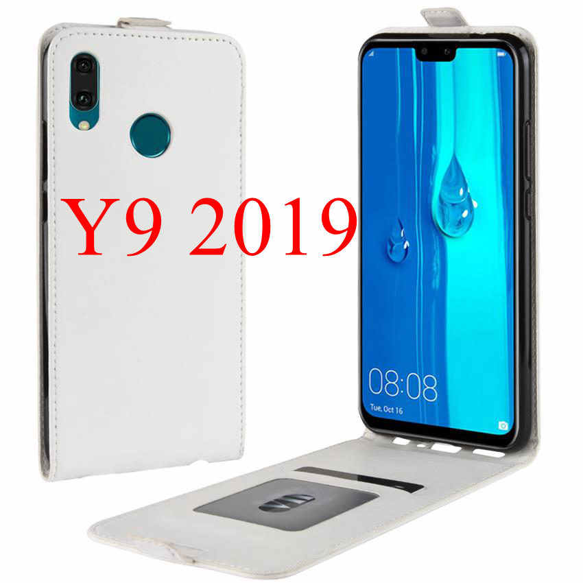 Phone Case For Huawei Y9 2019 Cover Wallet Flip Full Cover 360 Protector For Huawei Y7 2019 Y 9 2018 Full Cover Screen Protector