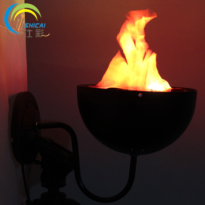 Wall Brazier Lights Simulation flame light glow bar atmosphere props Halloween decorations shop layout electronic brazier lights