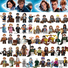 For Legoing Harri potter Figures Fantastic Beasts Rubeus Dobby Hagrid Seamus Finnigan Hermione Bricks Model building Blocks Toys(China)