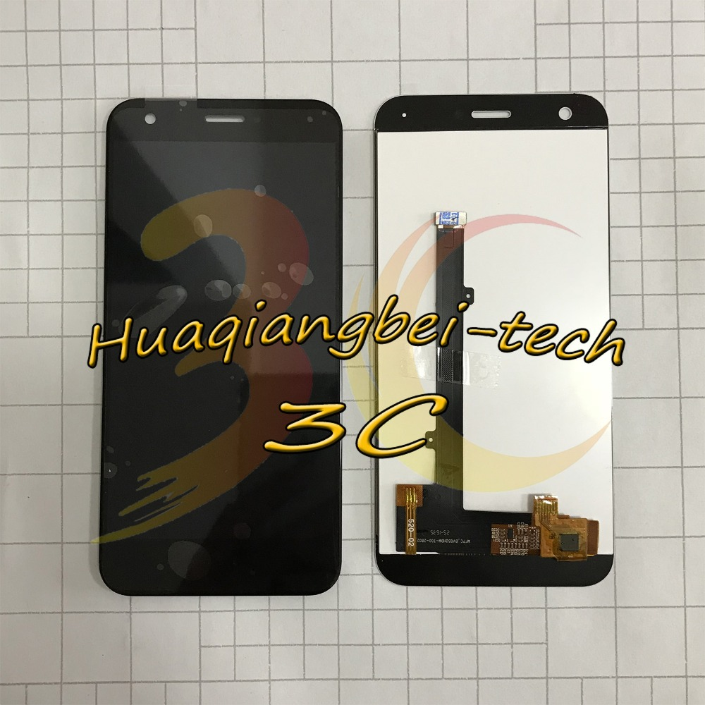Image 2 - 5.2 New For ZTE Blade A512 Z10 Full LCD DIsplay + Touch Screen Digitizer Assembly Black / White 100% Tested-in Mobile Phone LCD Screens from Cellphones & Telecommunications on