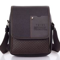 Lowest Price 2015 New Hot Sale PU Leather Men Bag Fashion Men Messenger Bag Small Business