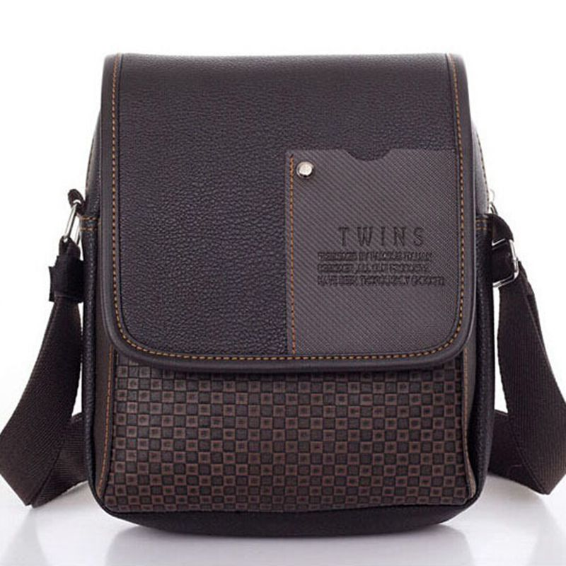 Lowest price 2017 New hot sale PU Leather Men Bag Fashion Men Messenger Bag small Business crossbody shoulder Bags   A40-293 high quality 2015 new hot sale genuine cowhide leather men bag fashion men messenger bag small business crossbody shoulder bags