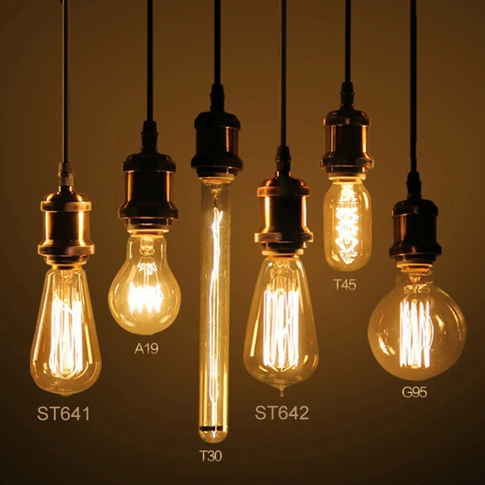 ampoule retro trendy v edison light bulb e ampoule. Black Bedroom Furniture Sets. Home Design Ideas