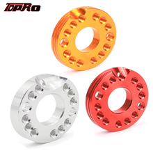 TDPRO 22MM CNC Carburetor Adjuster Inlet Intake Adapter Manifold Spinner Plate For Motor Pit Dirt Bike ATV Quad Zongshen Loncin