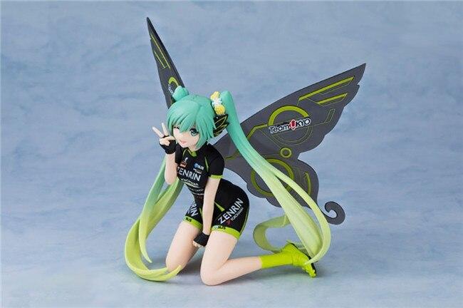 13 см sq японского аниме фигурки Хацунэ Мику ПВХ фигурку бабочка Ver милые девушки Коллекция Модель подарок для мальчиков