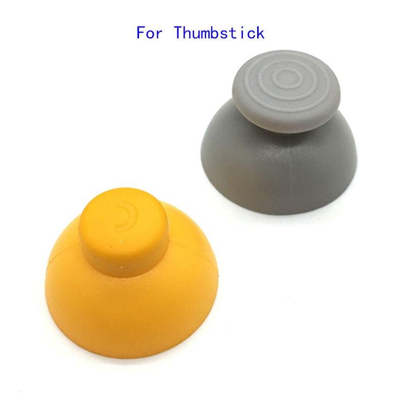 10Pair Gray & Yellow Analog Caps Replacement For Nintendo Gamecube Controller 1Pair=1Pair= Yellow+1pcs Grey